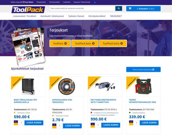 ToolPack verkkokauppa