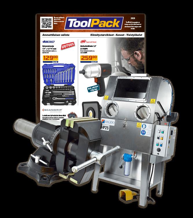 ToolPack työkalut ammattilaislaatuisena ammattilaisille.